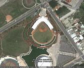 從天空看棒球場 - 台灣篇:花蓮棒球場