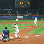 2006.03.22 新莊棒球場:王傳家打擊