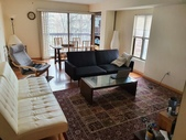 Fully Furnished Bedroom in Cambridge for Rent:Living Room