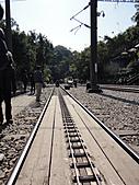 2011年01月生活:0101_小火車跟大火車的鐵軌