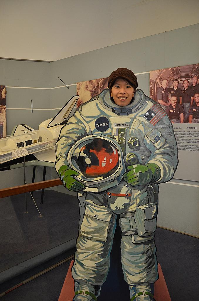 2011年01月生活:0130_喔耶!我是太空人~~~