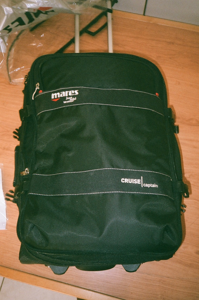 [Film 0] Fujifilm DL-270 & Pentax Espio Mini:2014的生日禮物:Mares 行李箱