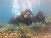 2013-06-15~17_OW潛水員訓練:水底照相的表情真的都很好笑XD (我是中間這個)