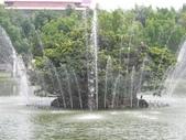 2005.06.06.台中遊(志達):中興湖美麗的噴泉