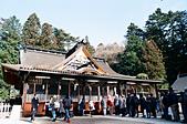[Film 50] 大內宿、猊鼻溪 (2019冬):Loop Bus仙台市區遊的第二站,來到「大崎八幡宮」。