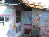 2010-01-16_台中彩虹眷村(干城六村):這些畫的作者就住在這一戶喔!