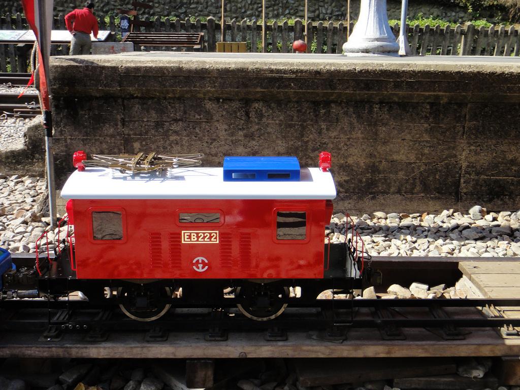 2011年01月生活:0101_雖然像玩具車,但是真的可以坐人!!