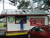 """20110817_帛琉PaPaGo Day1 市區觀光:帛琉超級有名的漢堡!(可是我們行程居然沒有附贈,而且沒有機會去買....>""""<)"""