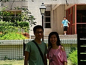 20070622 碩士服拍拍拍 (李昀 & NCU_Math):哈~難得李昀回清大