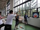 2010年05月生活:趣味射箭比賽(原來手要伸這麼長XXD)