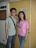 20070622 碩士服拍拍拍 (李昀 & NCU_Math):下次不能說他沒良心的:P