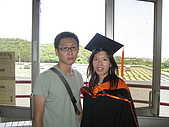 20070622 碩士服拍拍拍 (李昀 & NCU_Math):還是要穿碩士服拍一下的阿!!!