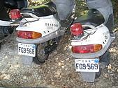 20070622 碩士服拍拍拍 (李昀 & NCU_Math):li想偷騎走的連號警車!