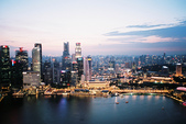 [Film 31] 2016年09月新加坡 & 12月生活:黃昏的濱海灣,攝於200米高空的『金沙空中花園』