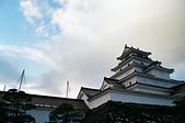 [Film 50] 大內宿、猊鼻溪 (2019冬):会津若松城(鶴ヶ城),這是日本境內唯一的『紅瓦』城。