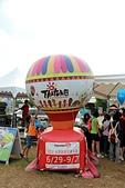 2012-08-09_鹿野、池上大坡池、伯朗大道、稻米原鄉館、羅山、六十石山:拍照用的縮小版台東球