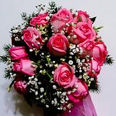 2015-01-11_玉羚婚宴 (我的伴娘初體驗):非常漂亮的捧花