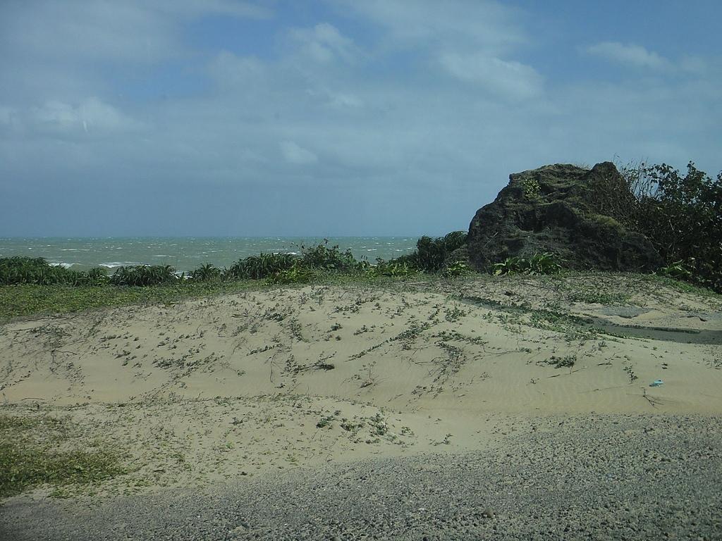 2010-10-27_我在墾丁*充實、平靜又驚險的第二天:風吹沙