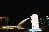 [Film 31] 2016年09月新加坡 & 12月生活:漂亮的白色加上噴水的光束,這是本捲底片我最喜歡的一張了!