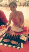 2014/06/28,29_小琉球&墾丁(陸地+海底):Julie是專業的烤肉老師