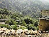 2010-09-30_瑞里印像區:當時這條路已經全斷,整個路基都沖刷斷裂
