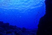 2015年10月蘭嶼的海與陸:這一張,只是想要表示能見度很好而已。Orz