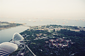 [Film 25] 2016年09月新加坡 (電影底片):金沙空中花園俯瞰