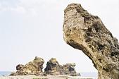 [Film 39] 2017年5月。蘭嶼+利吉惡地+金剛大道:雙獅岩。這角度挺難喬的...只可惜天空還是沒有拍好。(嗚嗚嗚)