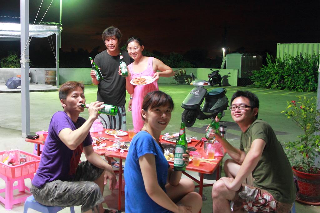 2014/06/28,29_小琉球&墾丁(陸地+海底):是因為Salsa圈跟潛水圈都是酒鬼嗎?XD