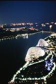 [Film 31] 2016年09月新加坡 & 12月生活:初入夜的濱海灣,攝於200米高空的『金沙空中花園』