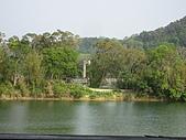 20090411 [新竹] Flying Fish & 寶山水:『沙湖瀝藝術村』望出去的景色 (餐點極失敗,沒照)