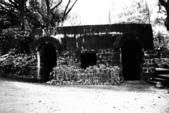 20120531基隆港和獅球嶺古砲台(黑白懷舊顆粒攝影):獅球嶺古砲台