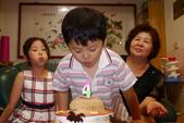 20121014提前過佑佑的生日: