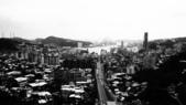 20120531基隆港和獅球嶺古砲台(黑白懷舊顆粒攝影):黑白懷舊顆粒攝影