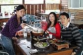 98.11.22新社花海:我們三人準備品湯