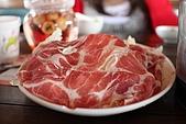 98.11.22新社花海:還有一片豬肉片盤,下面鋪滿高麗菜