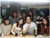 【原燒】三重龍門店-婚前的小聚餐:大合照...(唯一的一根草XD)