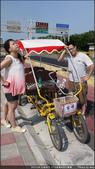 【17公里海岸自行車道】愛吃鬼新竹一日遊:這麼熱當然要騎敞篷車