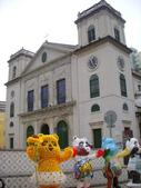 澳門自由行20140718(三)–主教座堂及主教公署:主教座堂及主教公署