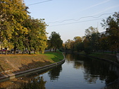 秋天的心情 (30.09.2007):我們家附近小黑河的秋色如詩如畫