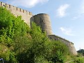 俄國古城堡:俄國邊防小城Ivangorod隔著納爾瓦河與愛沙尼亞的納爾瓦市相望