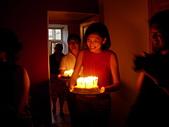 彼得堡生活 (2009):王瑛親手做的拿破崙蛋糕給Tom慶祝他的四十歲大生日(25.07.2009)