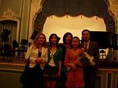 彼得堡生活 (2009):鋼琴演出之後留影(10.05.2009)