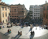 羅馬旅遊:西班牙廣場1.jpg