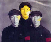 張曉剛作品集:張曉剛作品 : 大家庭系列 ~ 三位同志