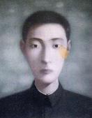 張曉剛作品集:張曉剛作品 : 血緣系列 ~ 同志第120號