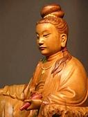 詹志評老師的精緻神佛像系列木雕作品:詹志評老師作品~觀音