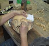 木雕教室:面具擺飾設計