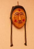 木雕教室:木雕面具擺飾