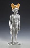 當代藝術家 ~ 詹志評的木雕作品:無懼的帽子(銅)